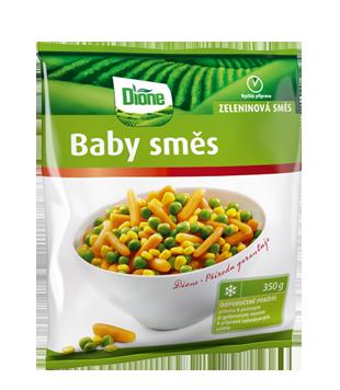 mražená zeleninová směs Baby