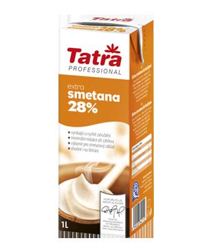 Tatra Extra smetana 28%