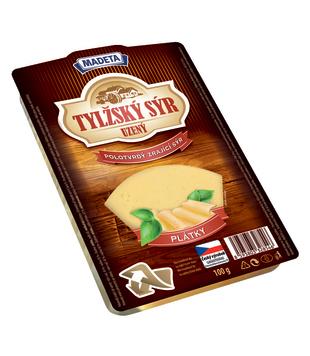 uzený plátkový Tylžský sýr 45%