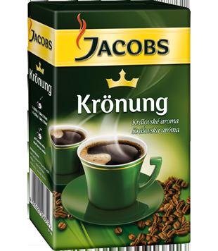 Jacobs Krönung mletá káva  (2 x 250 g), vybrané druhy