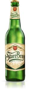 Starobrno Tradiční, nepasterizované světlé výčepní pivo