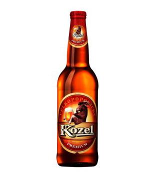 Velkopopovický Kozel Premium, světlý ležák 0,5l