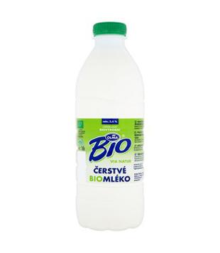 čerstvé mléko Olma Bio Via natur 3,5%
