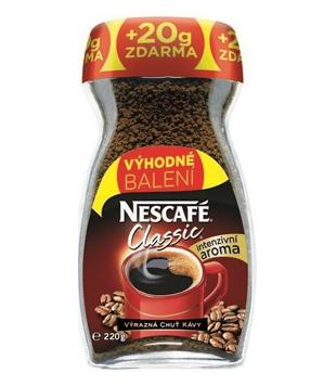 instantní káva Nescafé Classic v akci