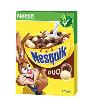 Nestlé cereálie Nesquik Duo