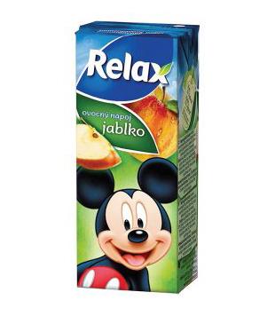 Relax dětský ovocný nápoj 200ml, různé druhy