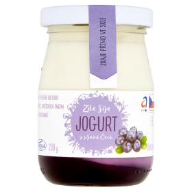 AGRO-LA Jihočeský jogurt s příchutí 200g, vybrané druhy