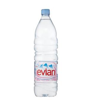 Evian Přírodní minerální voda 1,5l