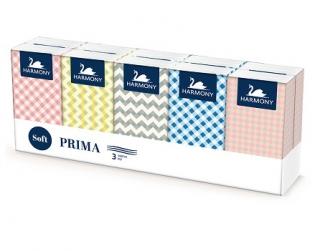 Harmony papírové kapesníčky, 10×10 ks, 3-vrstvé