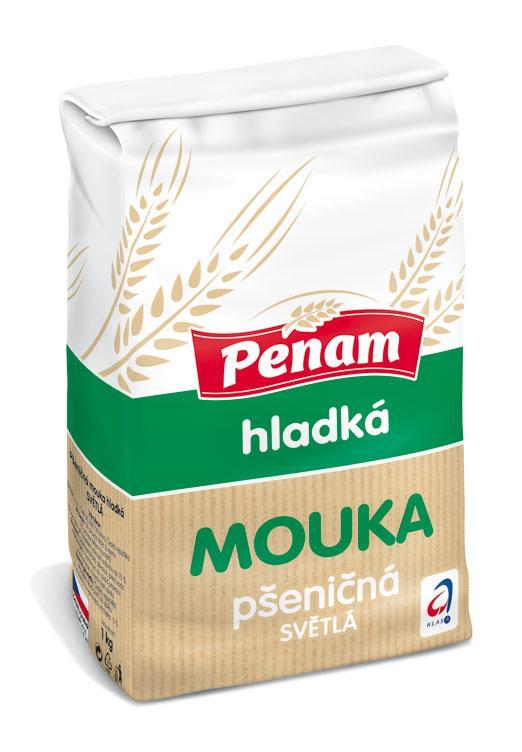Penam Mouka 1kg, vybrané druhy