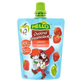 Hello dětská ovocná přesnídávka s vitaminem C 100g, vybrané druhy
