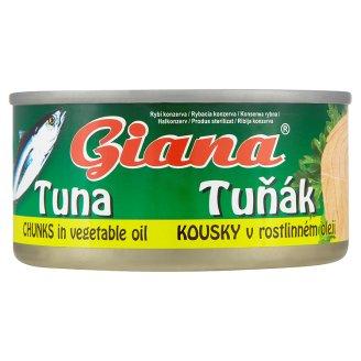 Giana Tuňák kousky 185g, vybrané druhy