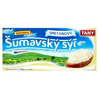 Tany Šumavský sýr 3x50g, vybrané druhy