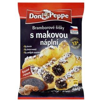 Don Peppe plněné šišky 600g, vybrané druhy