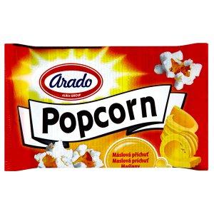 Arado Popcorn do mikrovlnné trouby, máslový 100g