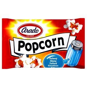 Arado Popcorn do mikrovlnné trouby, solený 100g
