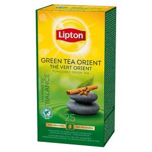 Lipton zelený čaj, vybrané druhy 25 sáčků