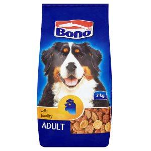 Bono Adult kompletní krmivo pro psy s drůbežím 3kg
