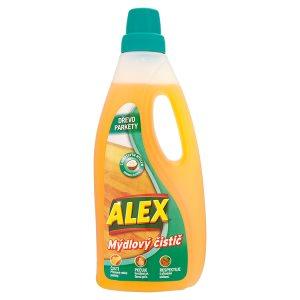 ALEX Mýdlový čistič s kokosovým mýdlem na dřevo a parkety 750ml