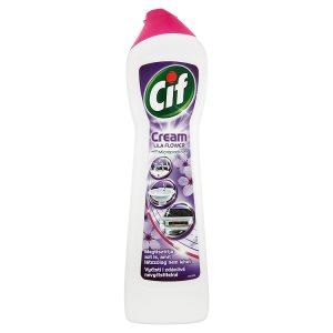 Cif Cream Lila flower krémový abrazivní čistící přípravek 500ml