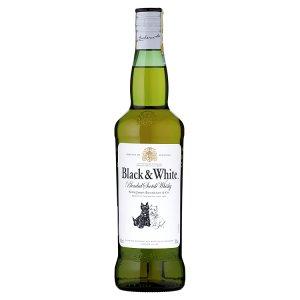 Black & White Whisky skotská 700ml
