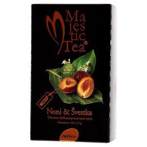 Biogena Majestic Tea Noni & Švestka ovocno-bylinný čaj porcovaný 20 x 2,5g