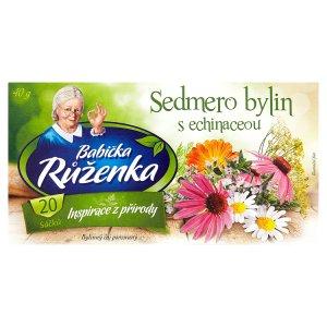 Babička Růženka čaj 20 x 2g, vybrané druhy