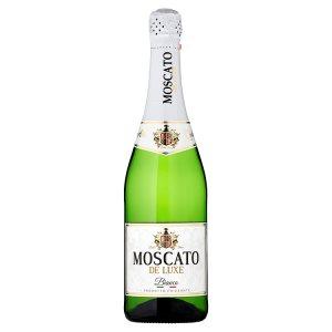 Moscato De luxe bianco alkoholický nápoj sycený 0,75l