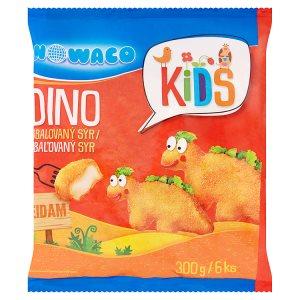 Nowaco Kids Dino obalovaný sýr eidam 6 ks 300g