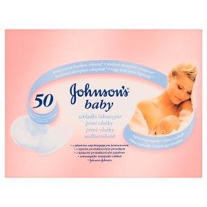 Johnson's Baby Prsní vložky 50 ks v akci