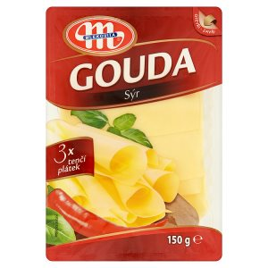 Mlekovita Sýr gouda plátky 150g