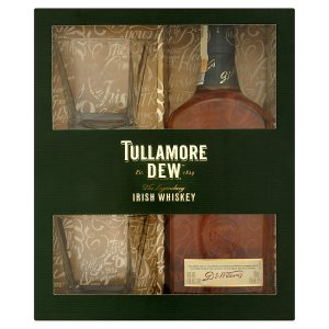 Tullamore D.E.W. Irish whiskey 700ml + 2 sklenice