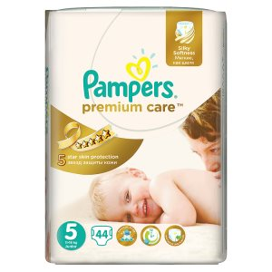 Pampers Premium Care Pleny 5 Junior 44 ks