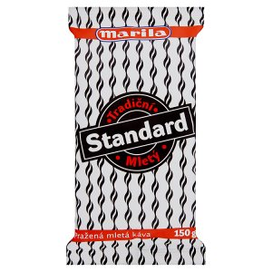 Marila Standart pražená mletá káva 150g