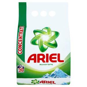 Ariel prací prášek 20 dávek, vybrané druhy