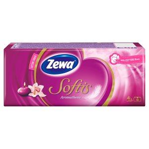 Zewa Softis papírové kapesníčky 10 x 9 ks