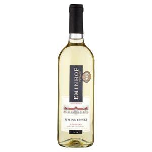 Diana Moravia Eminhof Ryzlink rýnský pozdní sběr suché bílé víno 0,75l