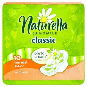 Naturella Camomile Classic normal hygienické vložky s jemnou vůní 10 ks