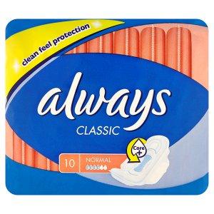 Always Classic Normal hygienické vložky 10 ks