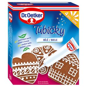 Dr. Oetker Tubičky bílé 4 ks 76g