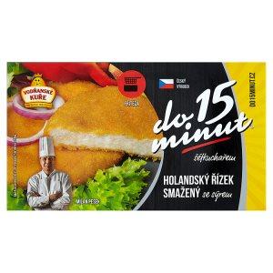 Vodňanské Kuře Holandský řízek smažený se sýrem 400g