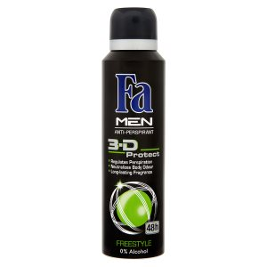 Fa Men 3-D protect freestyle antiperspirant sprej 150ml
