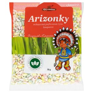 Kávoviny Arizonky ochucená pufovaná rýže loupaná 70g