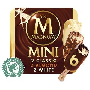 Magnum Mini 6 x 60ml, vybrané druhy