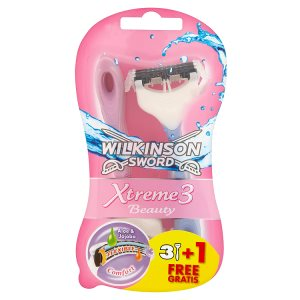 Wilkinson Sword Xtreme 3 beauty pohotové holítko 4 ks