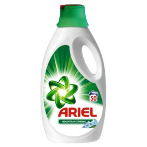 Ariel gel na praní 50 dávek, vybrané druhy