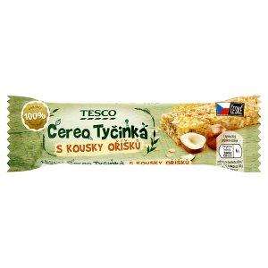 Tesco Cereo müsli tyčinka 30g, vybrané druhy