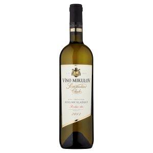 Víno Mikulov Sommelier Club Ryzlink vlašský víno s přívlastkem pozdní sběr suché bílé 0,75l