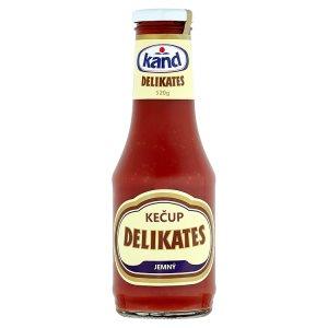 Kand Kečup 520g, vybrané druhy