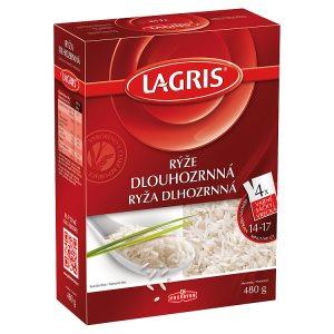 Lagris Rýže dlouhozrnná 4 varné sáčky 480g